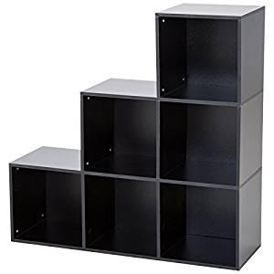 estante negro