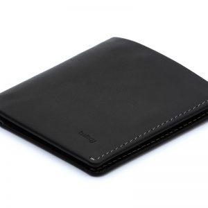 cartera minimalista negra