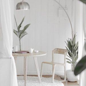 tienda minimalista decoración