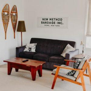interior minimalista de una casa