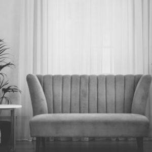 sofa minimalista pana