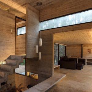 casa minimalista cemento