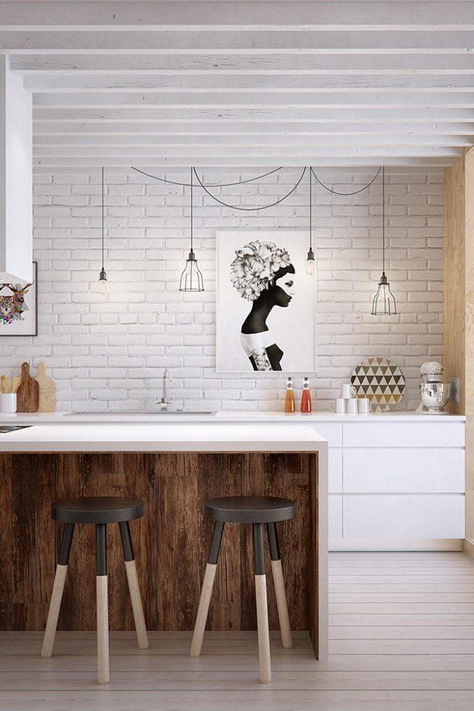 casa minimalista diseño ladrillos