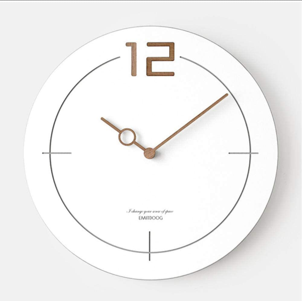 reloj minimalista pared